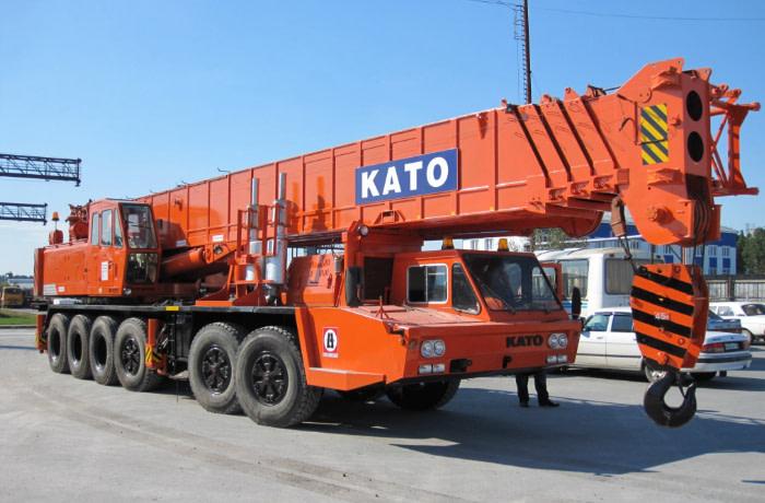Автокран KATO NK 750YS (75 тон, стріла 44м)
